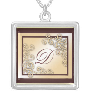 Monogram 'D' Necklace