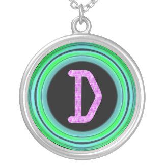 """Monogram """"D"""" Pendant"""