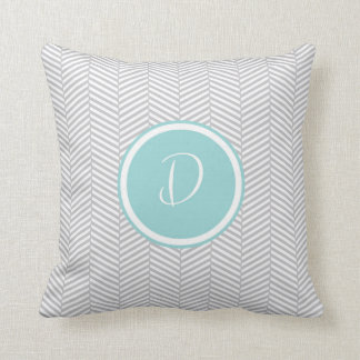 Monogram 'D' Throw Pillow