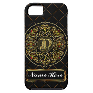 Monogram D Vibe Important View Notes Please iPhone 5 Cases