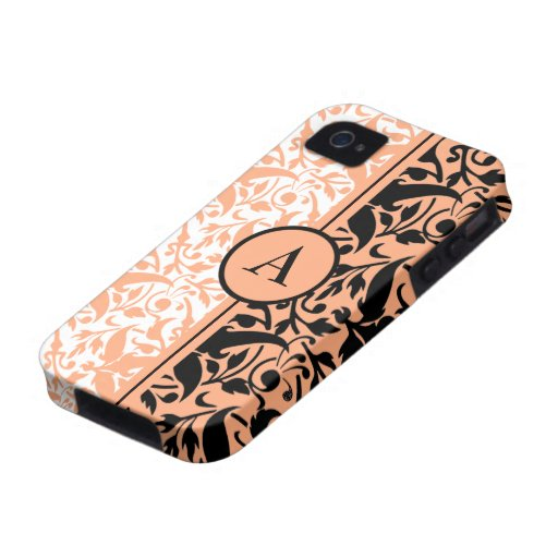 monogram damask case for the iPhone 4