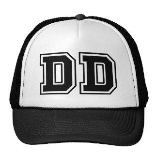 Monogram 'DD' initials Trucker Hat