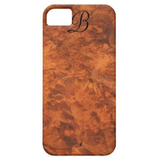 *monogram* del Cáucaso del caso del iPhone 5 del iPhone 5 Carcasa