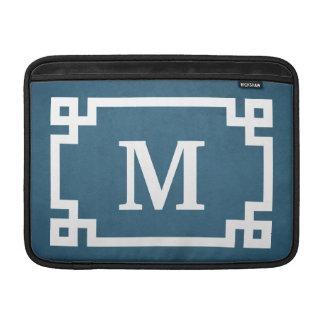 Monogram design MacBook sleeve