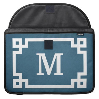 Monogram design sleeve for MacBook pro