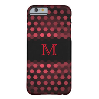 Monogram Desire Hexagons Pattern Barely There iPhone 6 Case