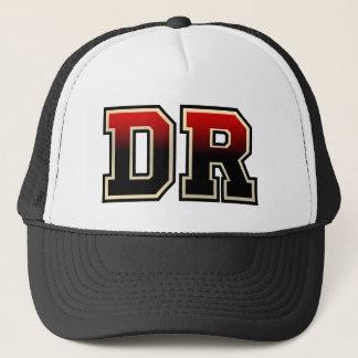 Monogram 'DR' initials Trucker Hat