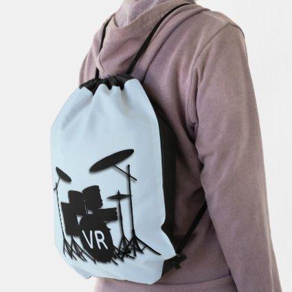 Monogram Drum Set Case Drawstring Bag