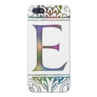 Monogram E Case For iPhone SE/5/5s