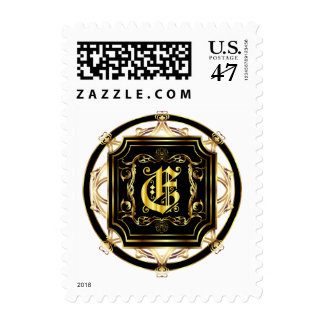 Monogram E Fits all Get Other Products W/Monogram Postage