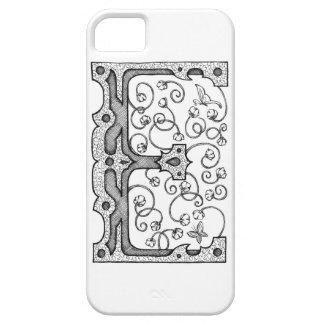 Monogram E iPhone SE/5/5s Case