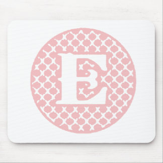Monogram E Mouse Pad