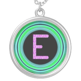 "Monogram ""E"" Custom Jewelry"