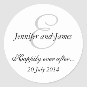 20 Personalised wedding favour labels | Custom favour stickers by  Niccocreations on Etsy