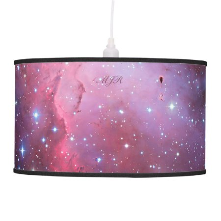 Monogram Eagle Nebula outer space picture Ceiling Lamp