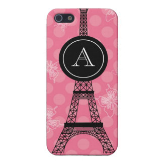 Monogram Eiffel Tower Speck Case Case For iPhone 5