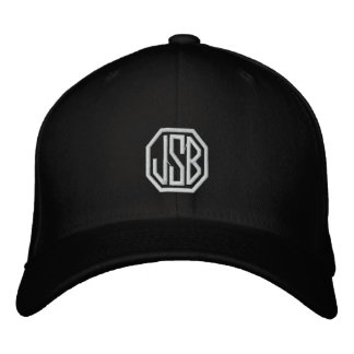Monogram Embroidered Baseball Hat Embroidered Baseball Cap