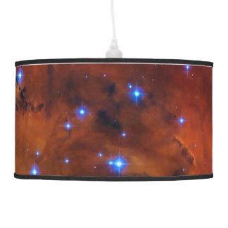 Monogram Emission Nebula in Puppis space picture Pendant Lamps