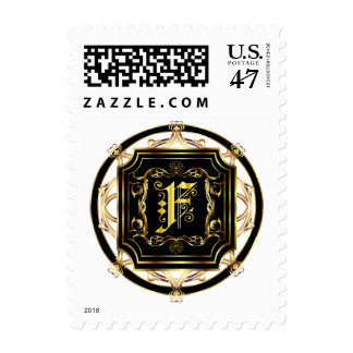 Monogram F Fits all Get Other Products W/Monogram Postage