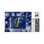 monogram_f postage