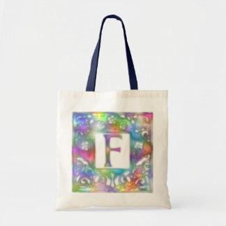Monogram F Tote Bag