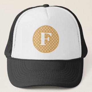 Monogram F Trucker Hat