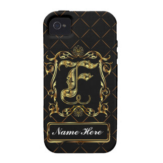 Monogram F Vibe Important View Notes Please iPhone 4 Cover