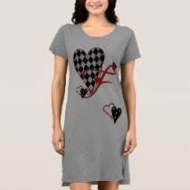 Monogram F Women's T-Shirt Dress