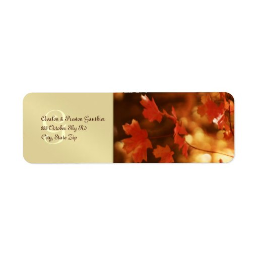 Fall Wedding Invitations Packages for nice invitations design