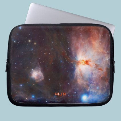 Monogram Fires of the Flame Nebula - in Orion Laptop Sleeves