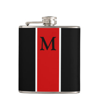 Monogram Flask Groomsman Gift