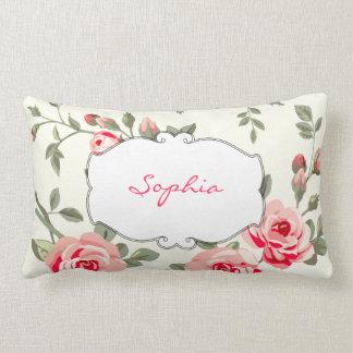 Monogram Floral Damask Pillows