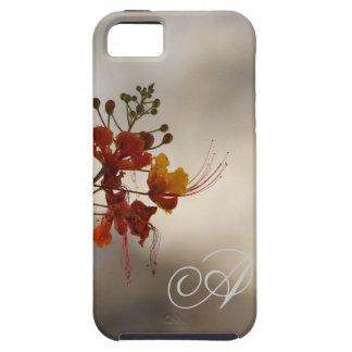 Monogram Floral Photo iPhone 5 Case iPhone 5 Case