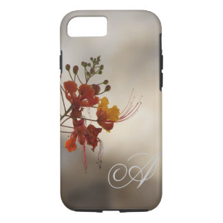 Monogram Floral Photo iPhone 7 case