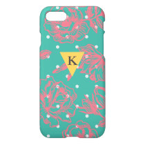 Monogram Floral Polka Dot iPhone 7 Case