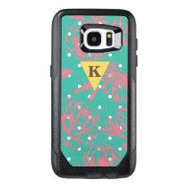 Monogram Floral Polka Dot OtterBox Samsung Galaxy S7 Edge Case