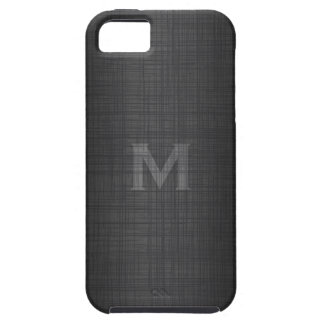 Monogram for Men with Linen Look iPhone SE/5/5s Case