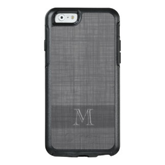 Monogram for Men with Linen Look OtterBox iPhone 6/6s Case