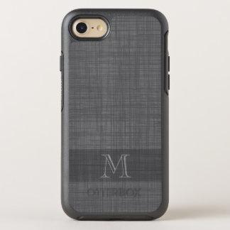 Monogram for Men with Linen Look OtterBox Symmetry iPhone 7 Case