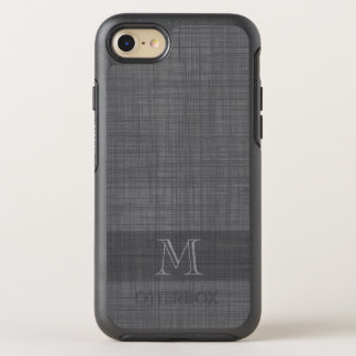 Monogram for Men with Linen Look OtterBox Symmetry iPhone 8/7 Case