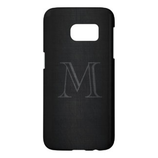 Monogram for Men with Linen Look Samsung Galaxy S7 Case
