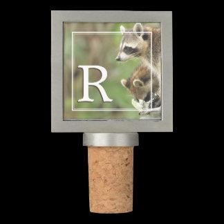 Monogram Friends & Blessings Friendship Raccoon Wine Stopper