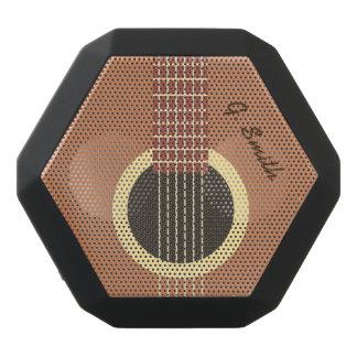 Monogram. Funny Guitar. Black Bluetooth Speaker