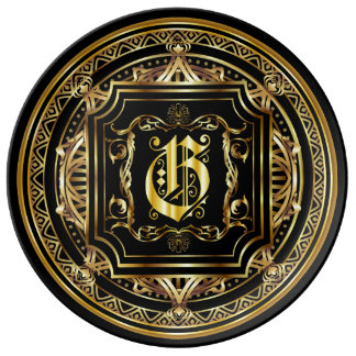 Monogram G ImportantView About Design Dinner Plate