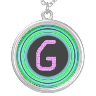 "Monogram ""G"" Jewelry"