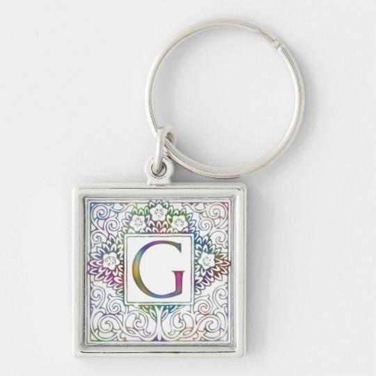 Monogram G Keychain