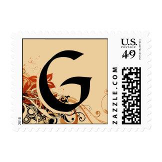 Monogram : G Stamp