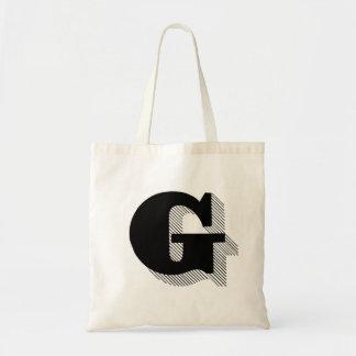 """Monogram """"G"""" Tote Bag"""