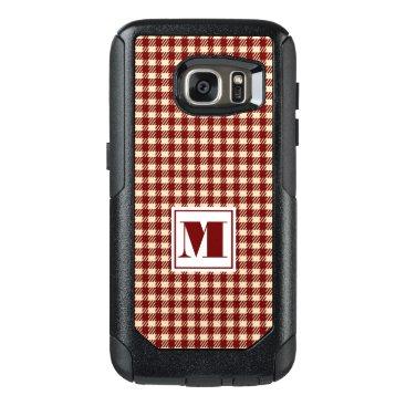 monogram_bouquet Monogram Gingham OtterBox Samsung Galaxy S7 Case