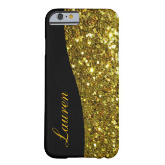 Monogram Glitter Bling Barely There iPhone 6 Case
